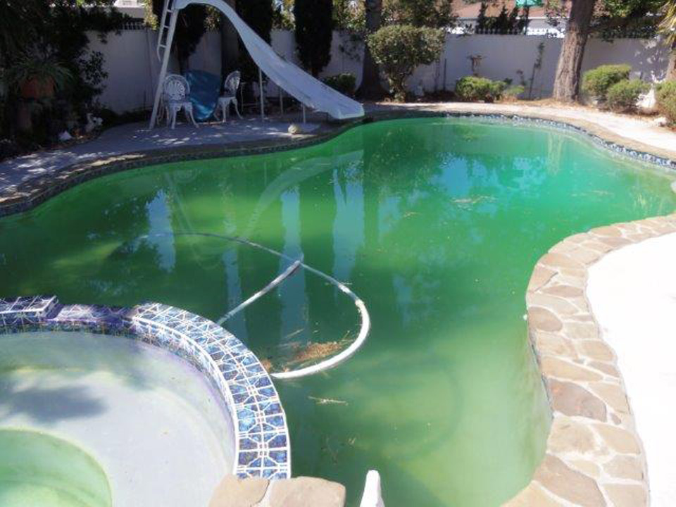 Tips on Treating Abandoned Swimming Pools