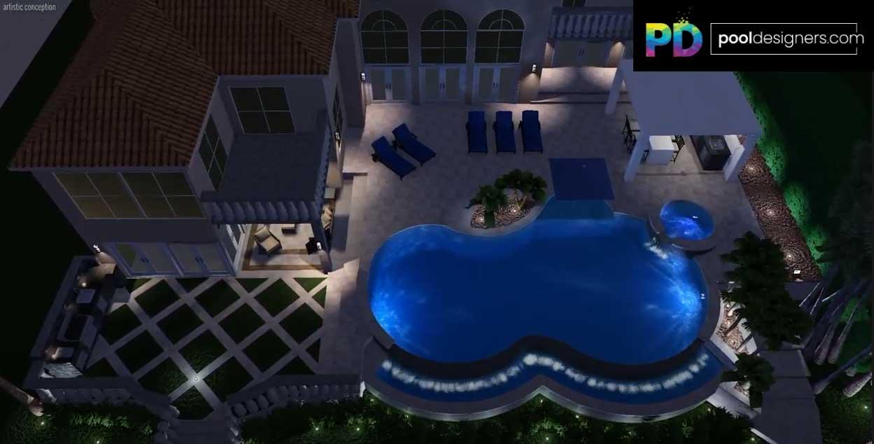 Top Pool Designer - Nilson Silva of Mastertouch Pools - Leading Pool Designer in Parkland, FL