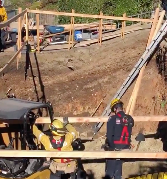 Swimming Pool Collapse Kills Contractor in Orange County