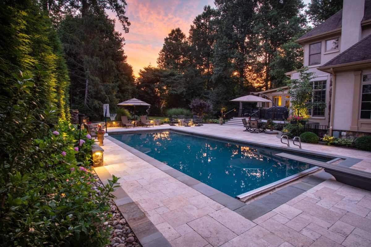 Modern Pool Renovation Provides More Opportunities For Recreation