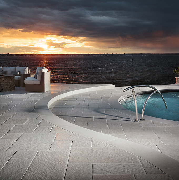 Belgard pavers are a very popular option. Discover the benefits of using pavers in your pool deck area.