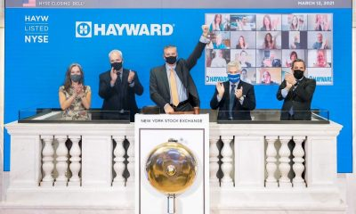Hayward Listed on the NYSE - Pool manufacturer Hayward begins trading on the New York Stock Exchange