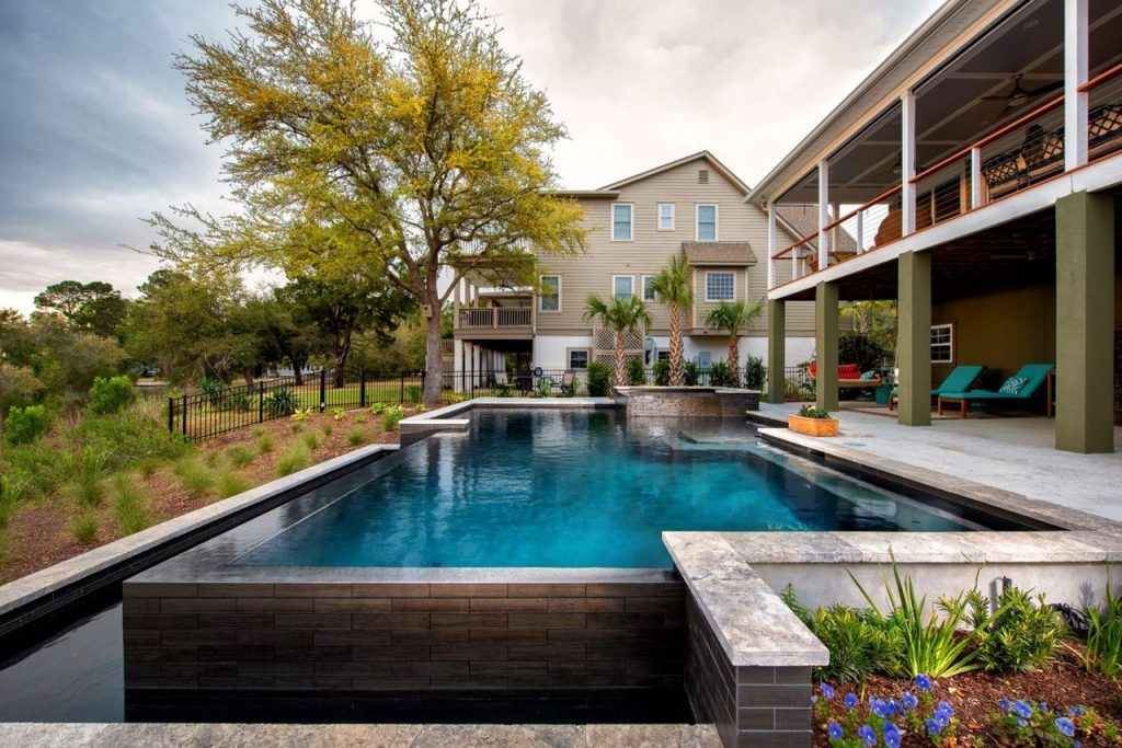 Colored Interior Pool and Spa Finish Materials