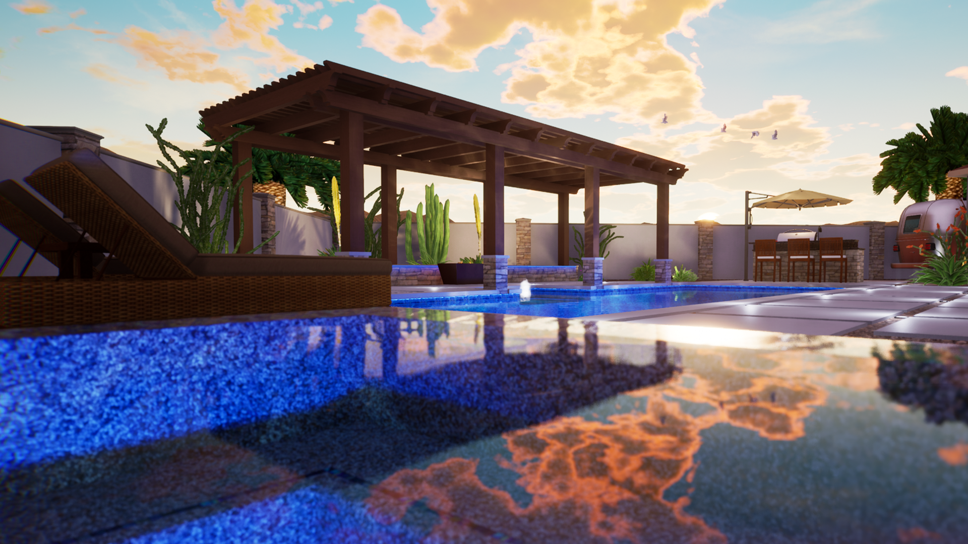 Pool Rendering Software - VIP3D Version 3 - Structure Studios