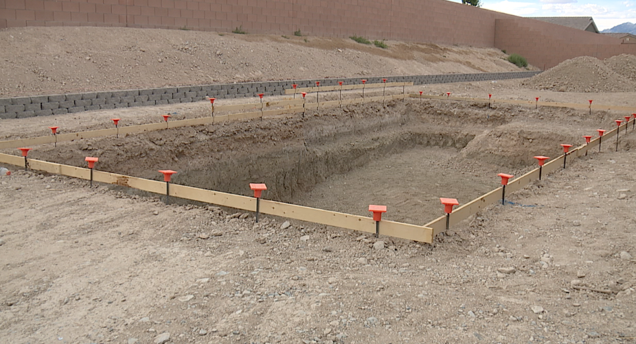 Workers reported their discovery to police upon uncovering strange bones during the exavation of one Las Vegas couples pool.