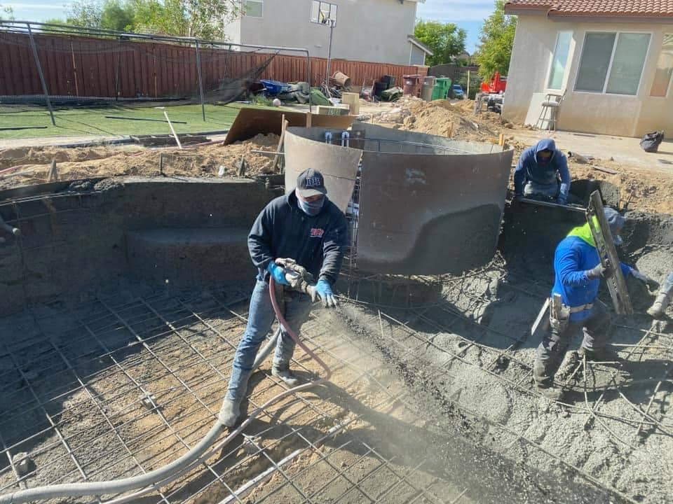 Shooting Shotcrete? Keep your hands off the nozzle.