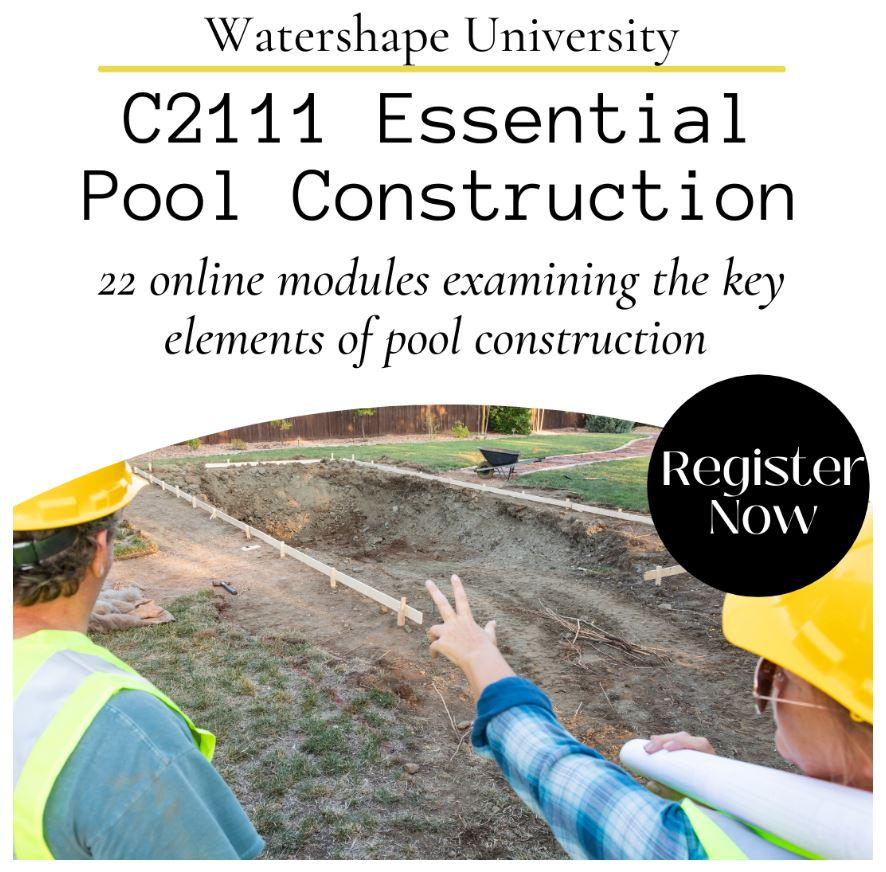 Ask the Masters, Pool Pro, Watershape University launch exclusive membership program