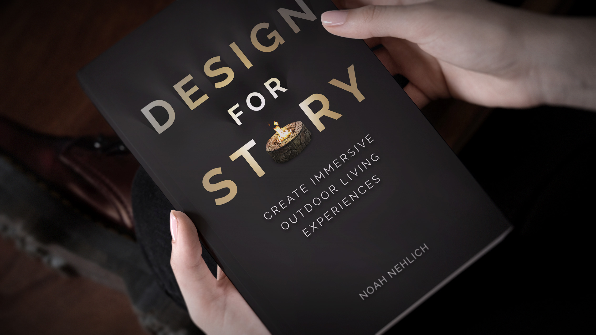 Pool Design Software Entrepreneur Noah Nehlich has written a new book - DESIGN FOR STORY focuses on the needs of todays pool designers, landscape architects and pool builders.