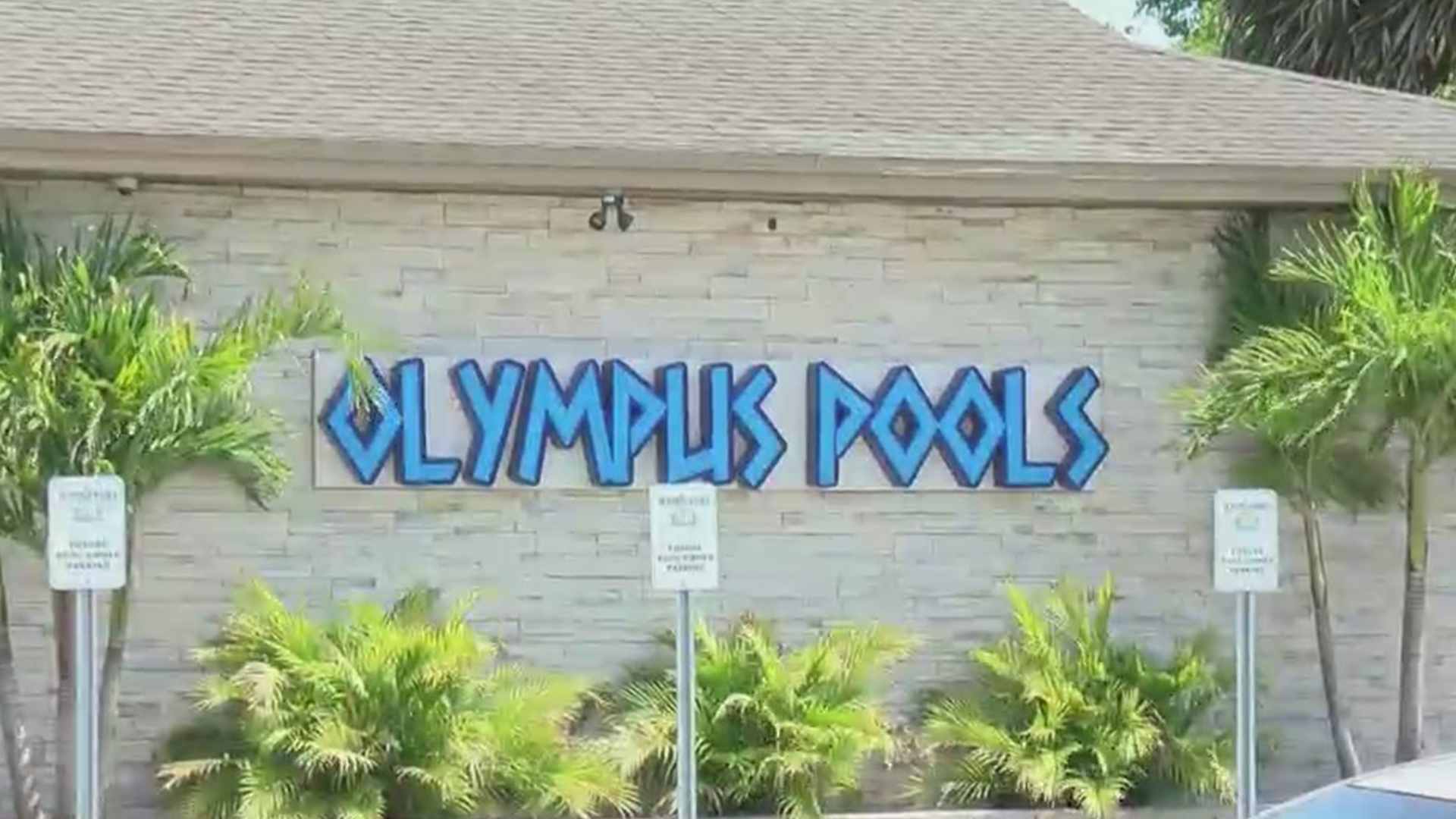 Olympus Pools was being sued by SCP for $1 million dollars