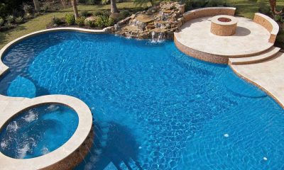 Building a luxury inground pool