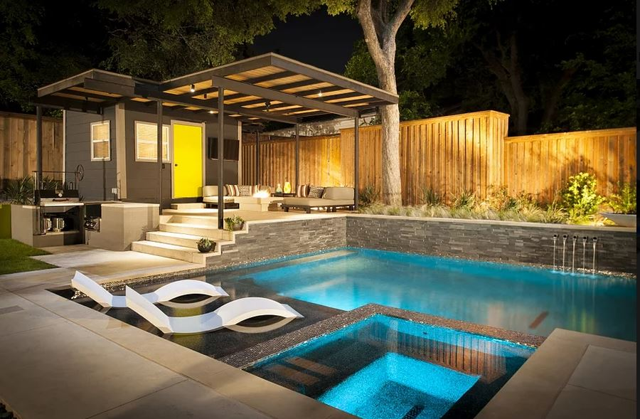 Randy Angell is widely considered to be one of the leading experts in modern geometric pool designs