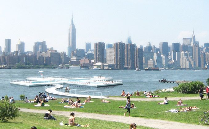 Plus Pool's use of natural water from the East River will require a world class filtration system.