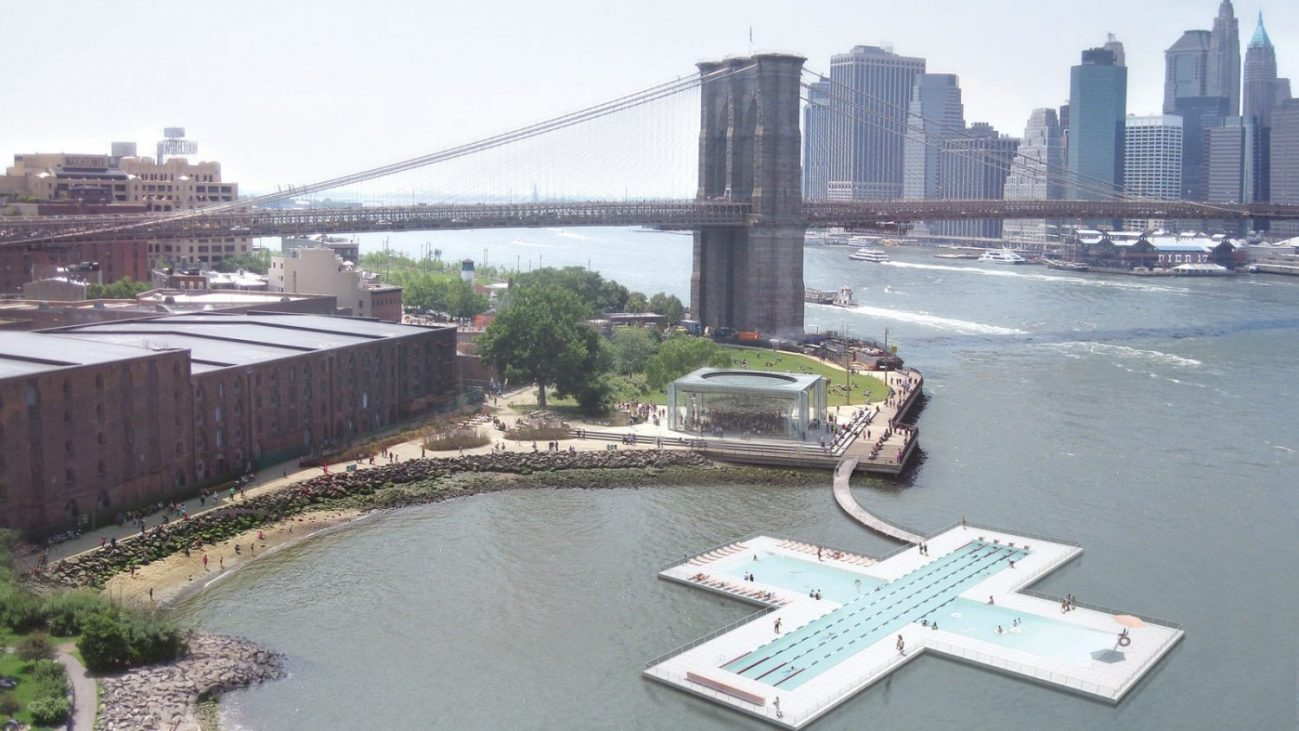 Plus Pool - Interview With Dong Ping Wong - Designer of the Plus Pool Concept in the East River in New York City