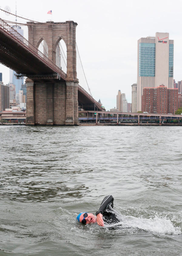 Can you swim in the East River? Yes. Should you? Well, let's just say that the jury is still out.