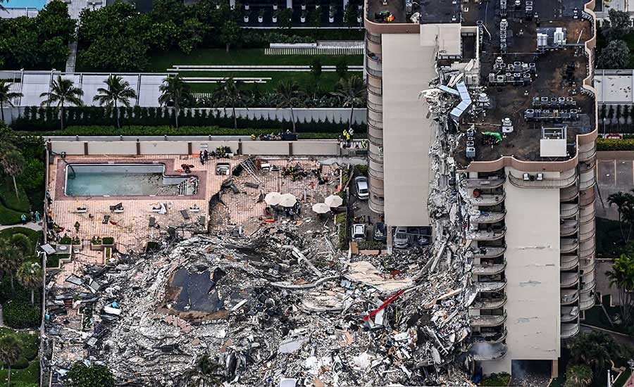 Champlain Towers Pool - Did the pool deck contribute to the collapse of the building?