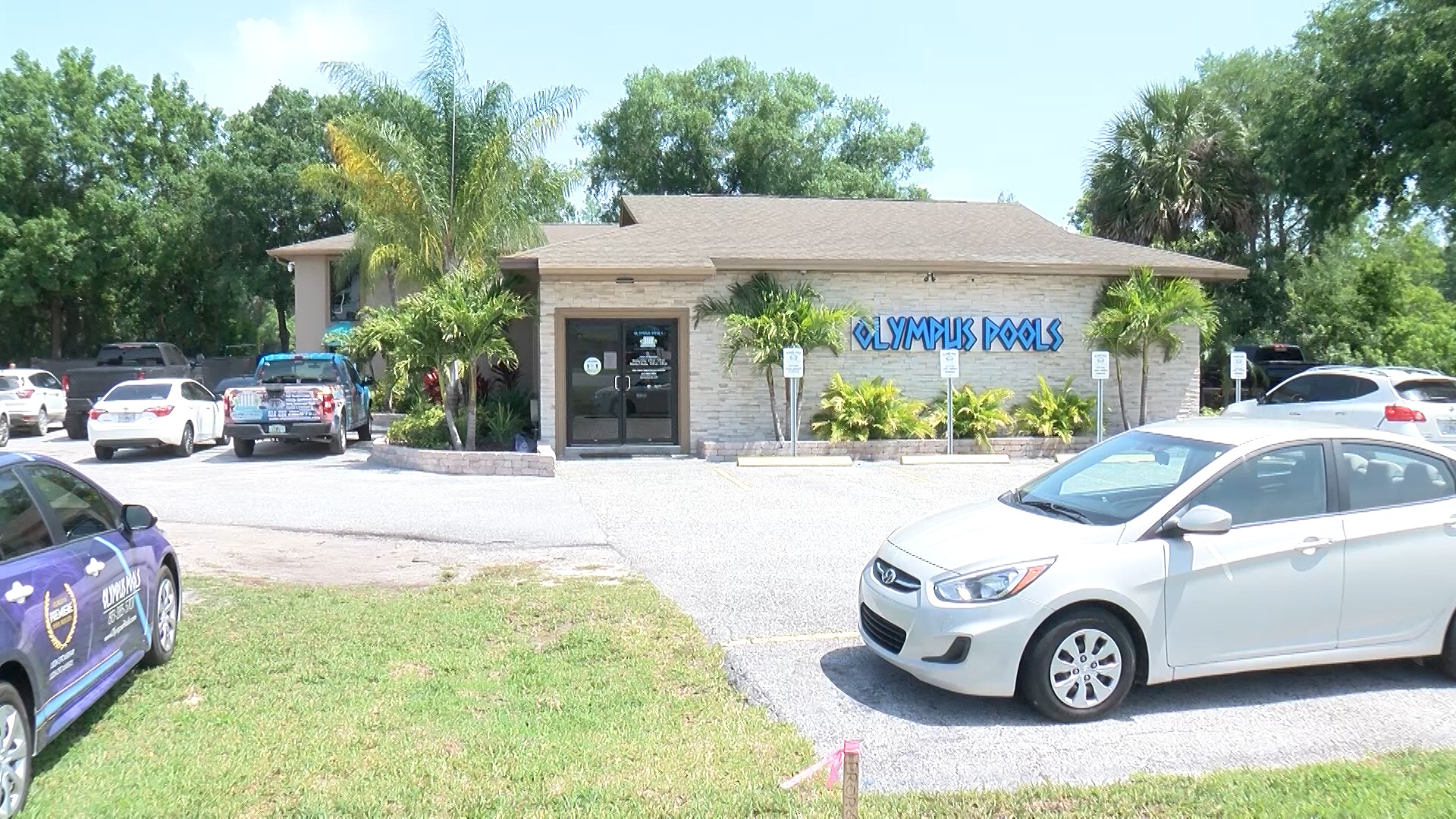 Olympus Pools is out of Business - Tampa florida pool builder implodes