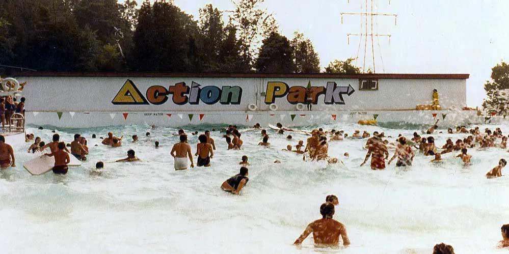 Tidal Pool in Action Park - Vernon, NJ