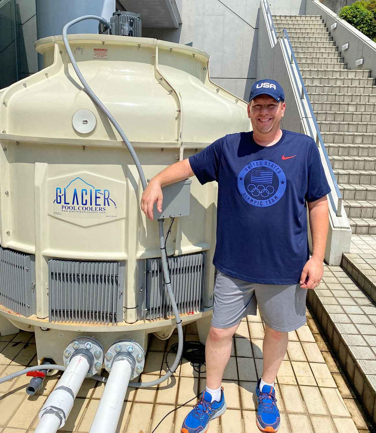 Glacier Pool Coolers - Olympics in Tokyo