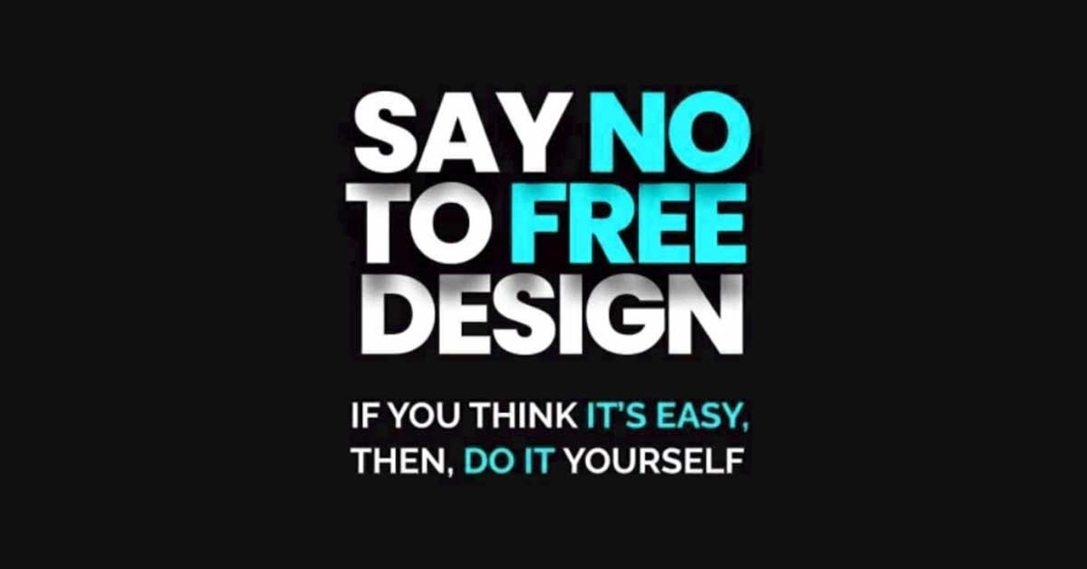 Say No To Free Design - Free Pool Designs Are Bad For The Industry