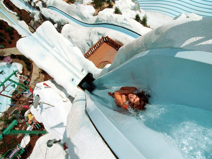 Summit Plummet is one of the tallest water slides in the United States.
