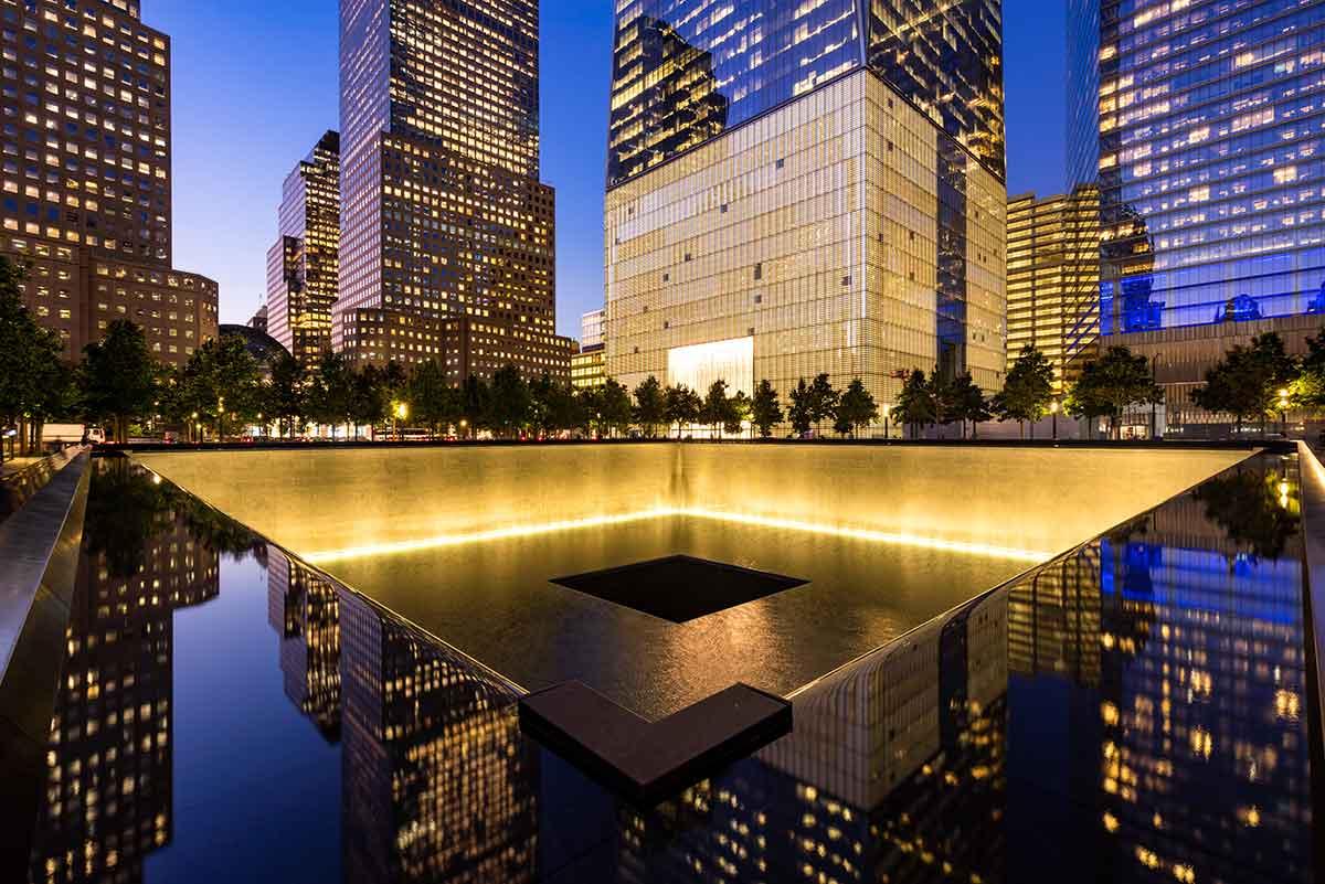 9/11 Memorial Pools - A Look at the Reflecting Pools