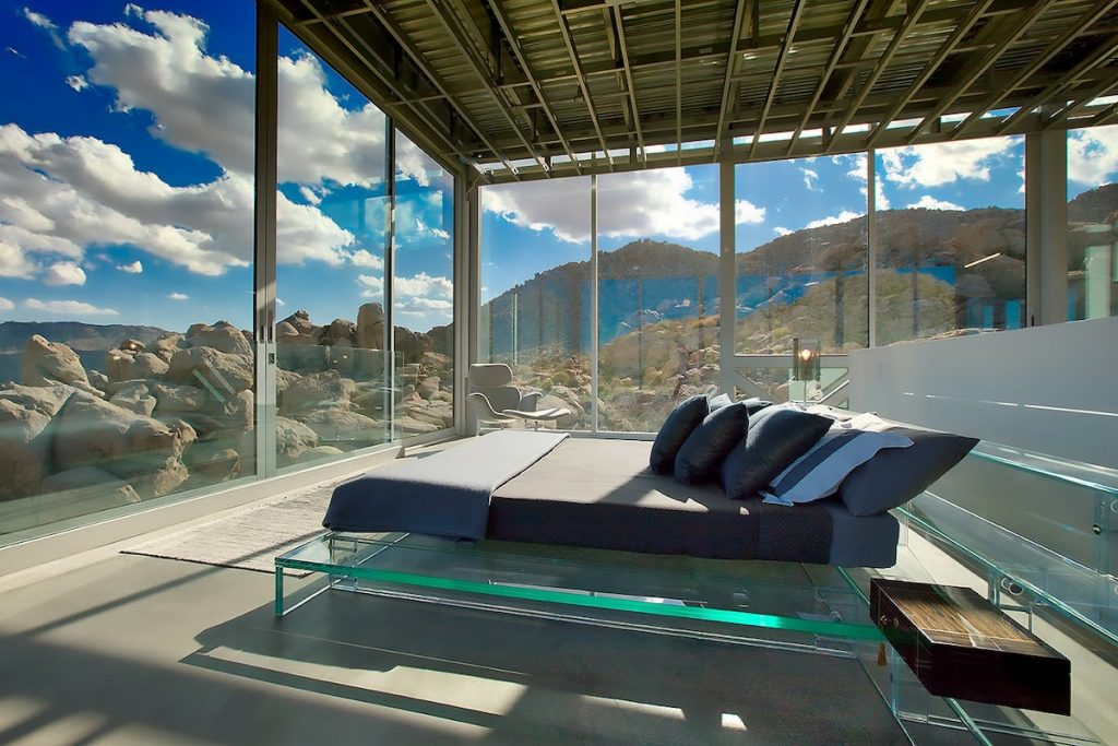 The million dollar view you get sleeping in the master suite is worth every penny. - Invisible House