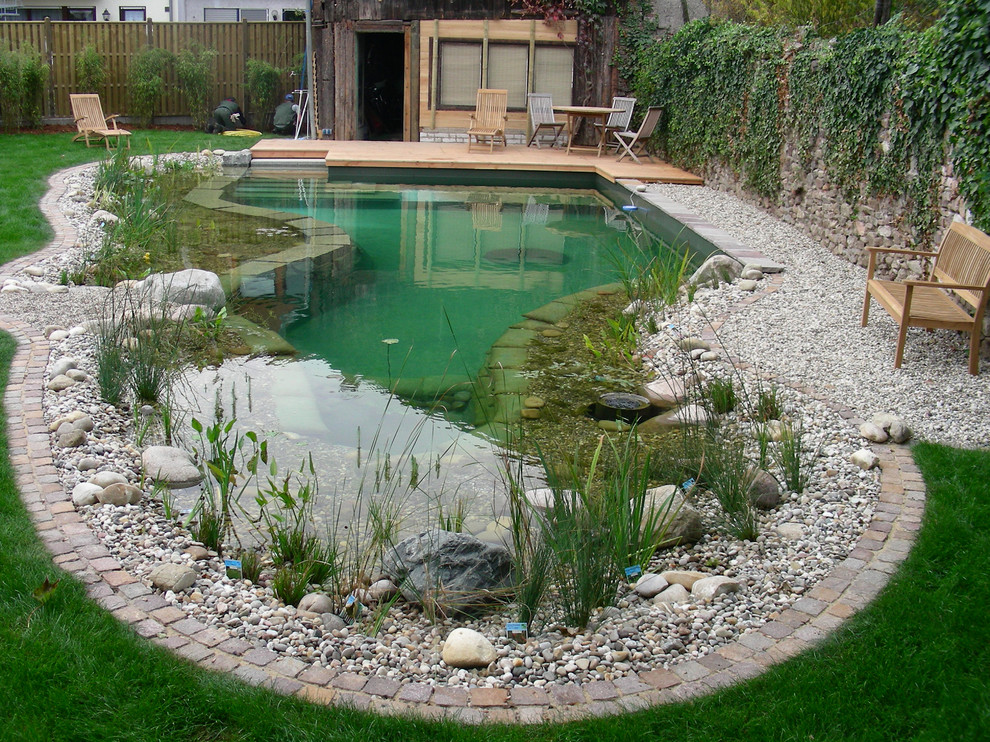 Are natural pools as cost efficient to build and ultimately maintain as traditional chlorine inground pools?