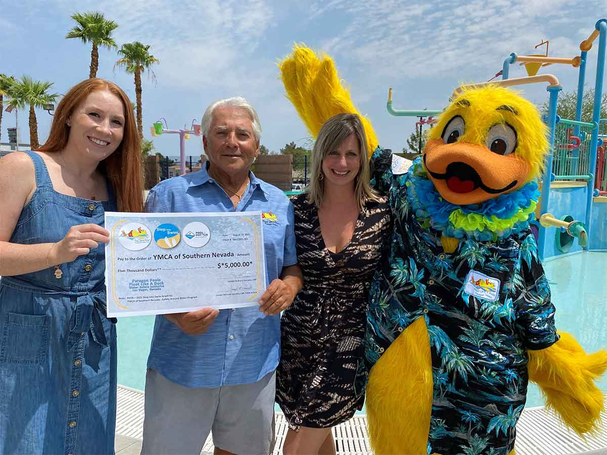 Float Like a Duck Received $5000 grant from PHTA's Step Into Swim Program