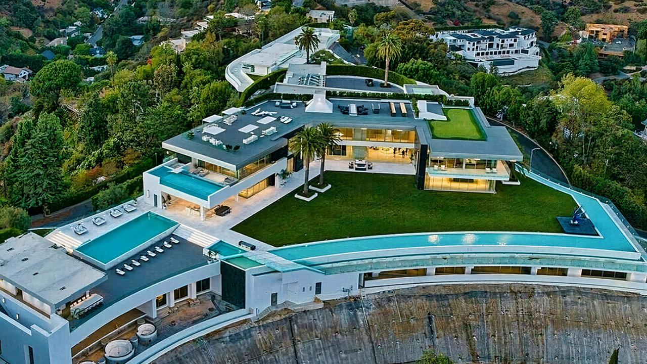 """""""The One"""" is one of the largest custom luxury homes in the world and has 6 swimming pools."""
