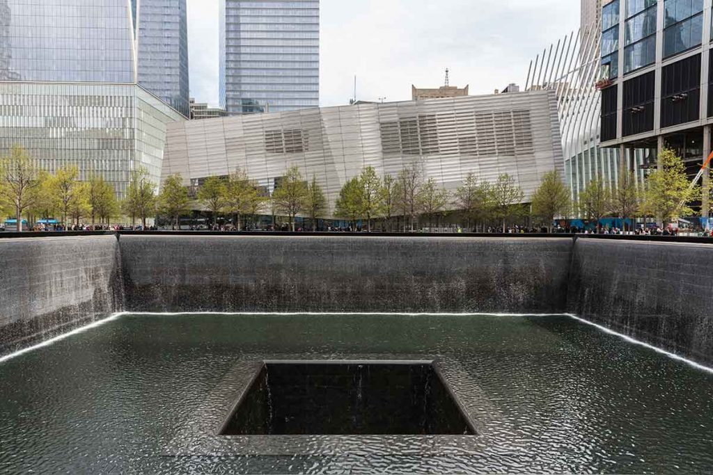 The two pools at the 9/11 Memorial have attracted millions of visitors each year since it first opened.
