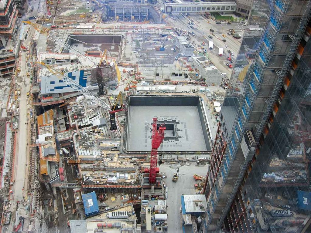 The 9/11 Memorial took ten years of planning and building before it was completed in 2011.