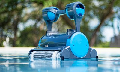 Best Automatic Pool Cleaners - Dolphin Premier Voted Best Robotic Pool Cleaner of the Year by Pool Magazine