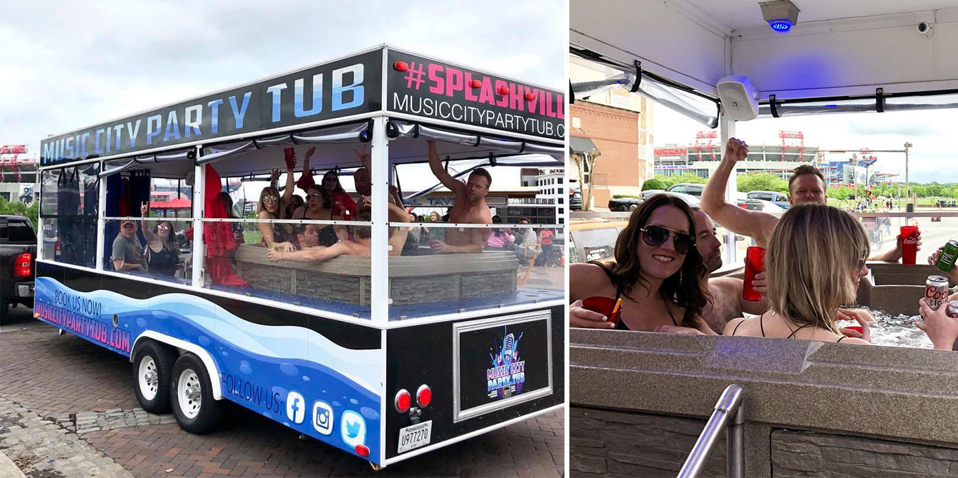 Hot Tub Party Bus Forced To Shut Down Due to Lack of Permit