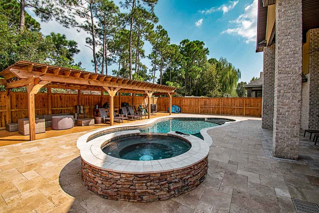 Pergolas for pools are a popular outdoor living feature