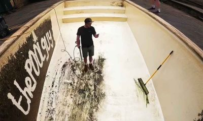 Pool Cleaning ASMR Videos Get Hundres of Millions of Views - Miles Laflin is a TikTok Star