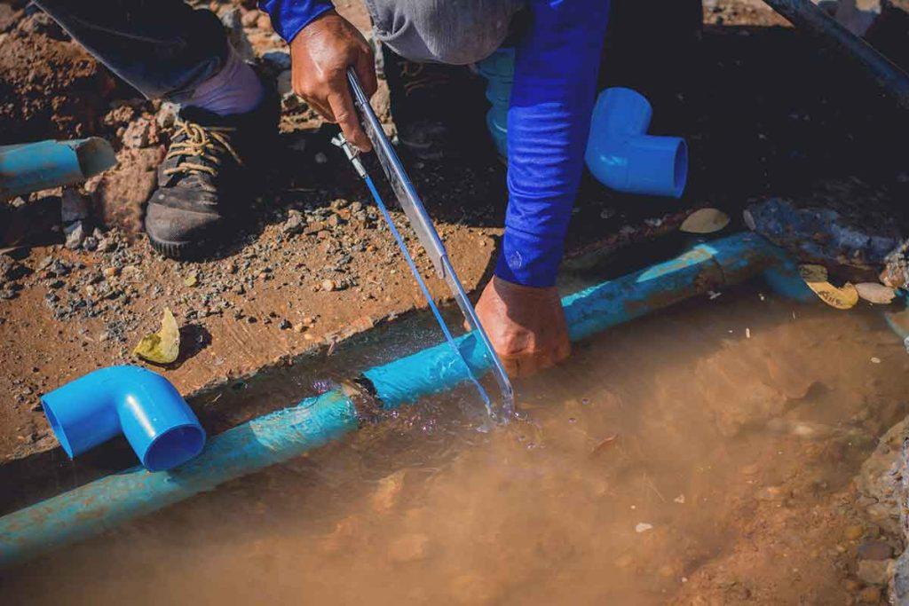 Pool Plumbing Repair involving  underground plumbing can be costly.