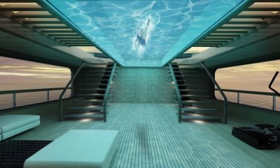 Superyacht Flying Pool Concept Will Take Your Breath Away